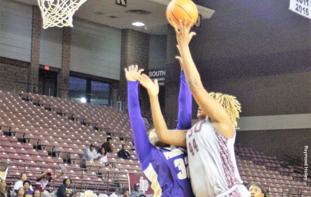 Fourth-quarter surge lifts @TSUWomensHoops past Grambling
